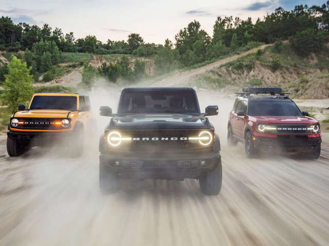 Ford Bronco: svelato l'anti Jeep Wrangler