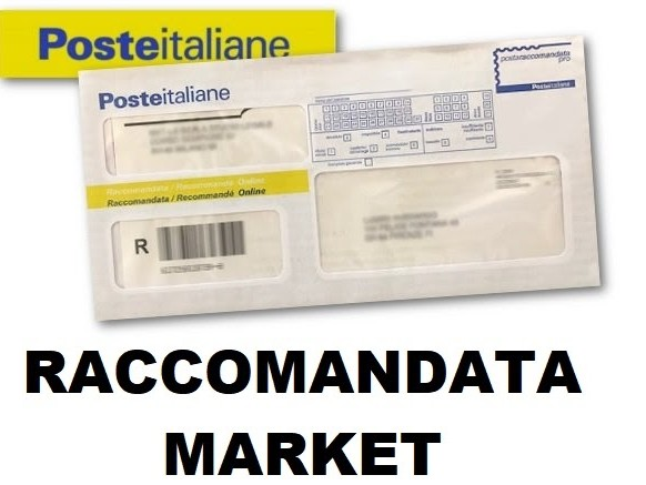 Avviso di cortesia posta raccomandata market