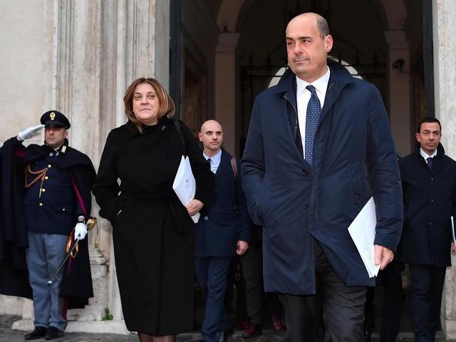 Zingaretti ha scaricato la governatrice dell'Umbria Marini