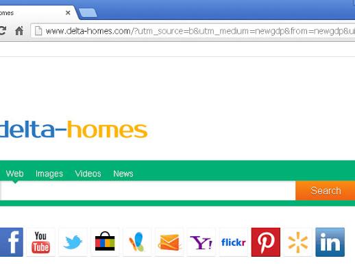 Come rimuovere Delta Homes Chrome Mozilla Firefox Explorer