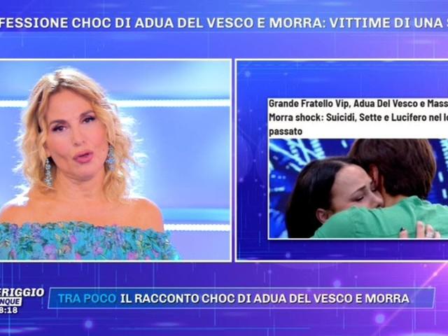 Barbara D'Urso conferma le rivelazioni di Morra e Del Vesco al GF VIP ma si rifiuta di fare i nomi. Ora si indaghi!