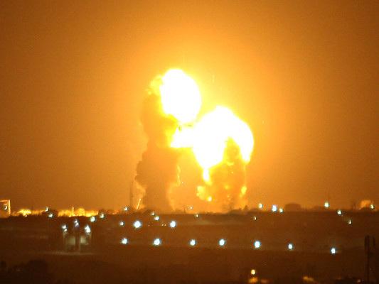 Israele ha attaccato alcuni obiettivi di Hamas a Gaza