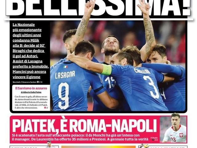 Corriere dello Sport – Icardi fiuta il gol E' l'effetto sosta