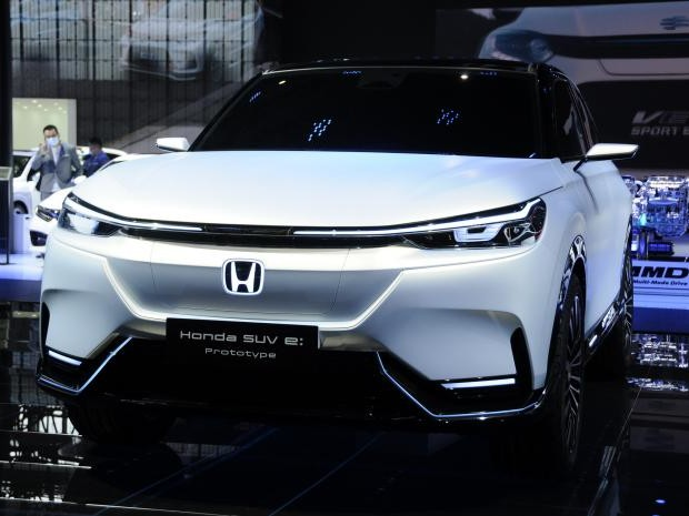 NUOVO HONDA SUV E Prototype