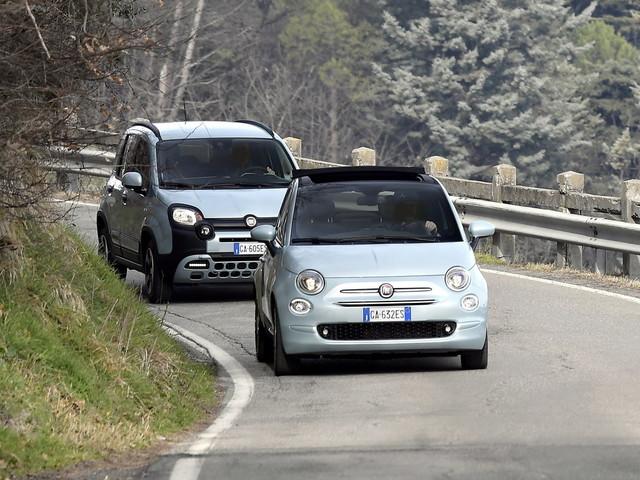 Fiat inizia il 2020 con 500 Hybrid e Panda Hybrid