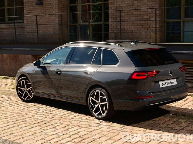 Volkswagen Golf - Aperti gli ordini per la Variant