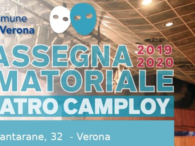 Al via la nuova stagione di teatro amatoriale al Camploy di Verona: tutti gli spettacoli