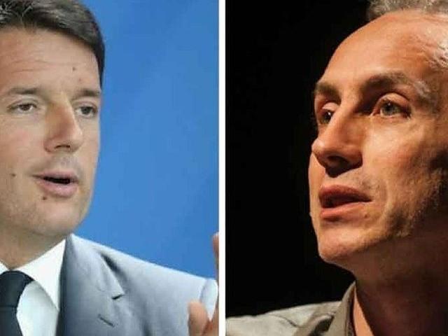 Crisi di governo, Travaglio cita Renato Zero per scaricare Renzi: 'Finalmente te ne vai'