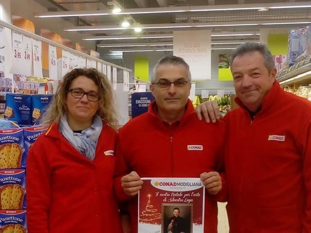 Il supermercato partecipa alla raccolta fondi per l'acquisto del dipinto di Silvestro Lega