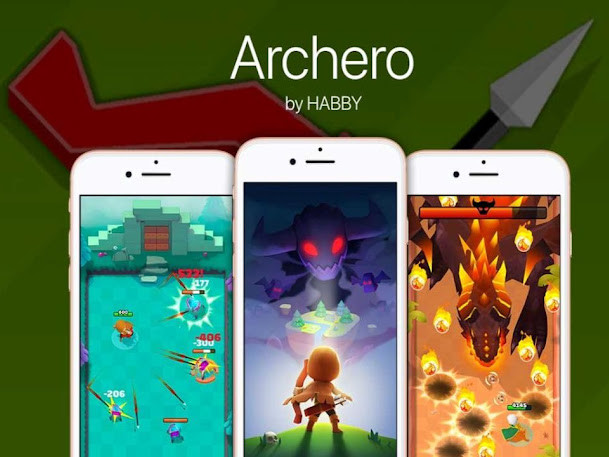 Download gratis Archero, gioco per Android e iOS Avventura / RPG