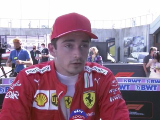 """Charles Leclerc, successo sfumato a Silverstone: """"Difficile godermi questo momento, fa male perderla così"""""""