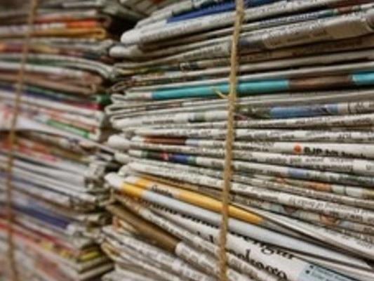 Come aprono i quotidiani in edicola