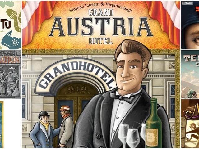 [Ieri Sera sui Nostri Tavoli] Grand Austria Hotel, Bumúntú e altri 5! (+ indovinello)