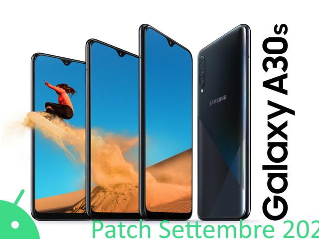 Galaxy A30S, Galaxy A50, A51 e M51 si aggiornano con le patch di settembre 2021
