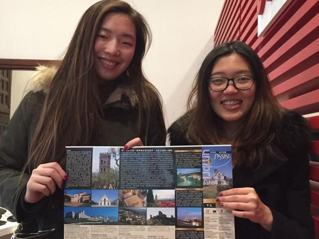 Assisi, presentata oggi la mappa della città in lingua cinese