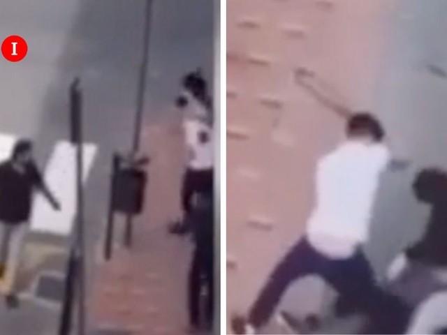 Ventimiglia, migrante aggredito in strada con spranghe e bastoni | VIDEO