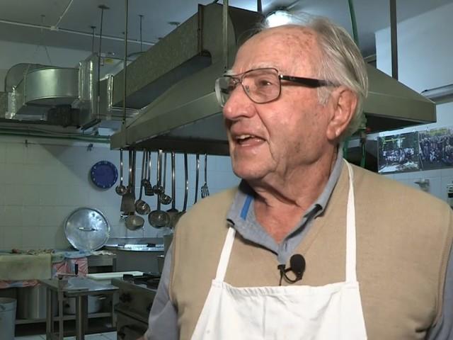 Lo chef dei poveri Dino Impagliazzo morto a 91 anni: sfamava oltre 300 persone al giorno
