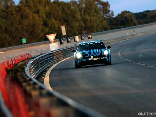 Porsche Taycan - Prova di resistenza a Nardò: 3.425 km in 24 ore
