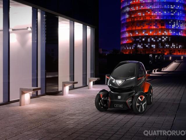 Seat Minimò - Una micro concept elettrica per il car sharing del futuro