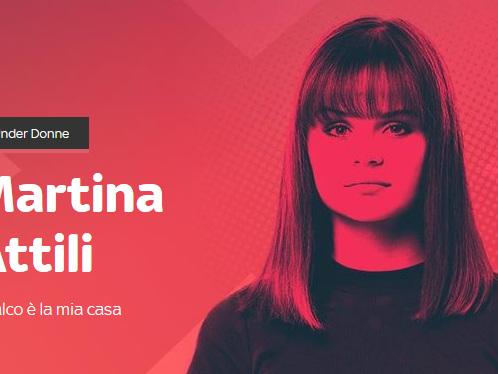 """X Factor 2018, Martina Attili a Blogo: """"Mi annoia essere definita strana, credo ci si debba concentrare sul mio canto"""""""