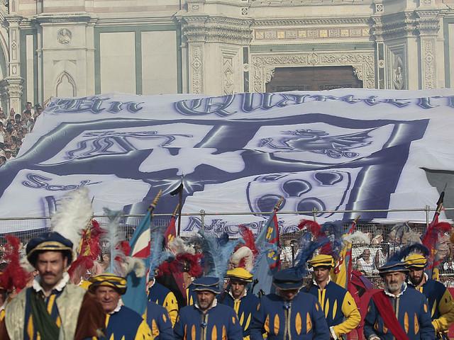 Calcio Storico: trionfo dei Bianchi, Rossi battuti sul filo di lana