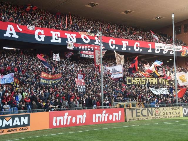 Genoa-Inter, omaggio a De Andrè: tutto lo spettacolo della Gradinata Nord [VIDEO]