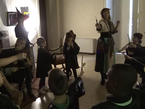 Villa Medici diventa accademia per giovani maghi: dieci giorni all'insegna del Mondo Fantasy