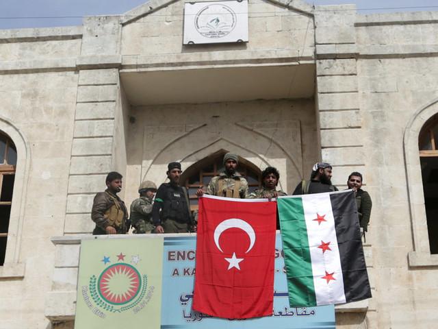 Ad Afrin nasce il protettorato ottomano in Siria