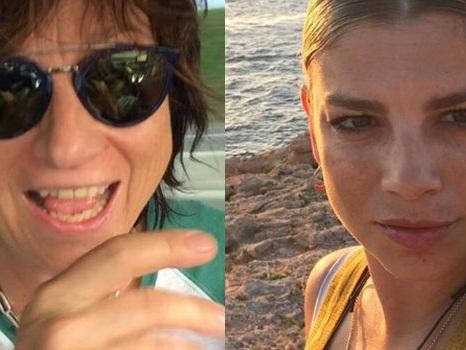 """""""Zia"""" Emma Marrone in vacanza con Gianna Nannini e sua figlia Penelope, il video dei giochi in piscina"""