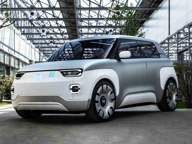 Fiat Centoventi, il concept elettrico alla festa dei motori di Modena