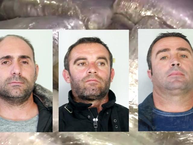 Trasportavano 45 chili di droga dalla Calabria, arrestati tre corrieri