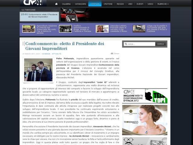 Confcommercio: eletto il Presidente dei Giovani Imprenditori