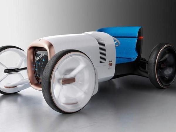 Mercedes Vision Simplex, suggestioni dal passato al nuovo centro stile di Nizza