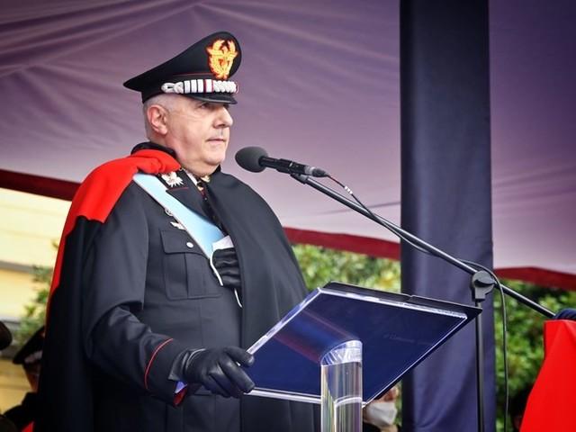 Il neo comandante dei Carabinieri Teo Luzi