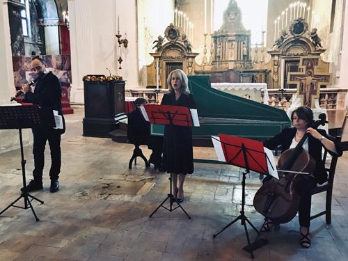 Alla Chiesa di San Francesco fa sognare l'Ensemble Quintessenza