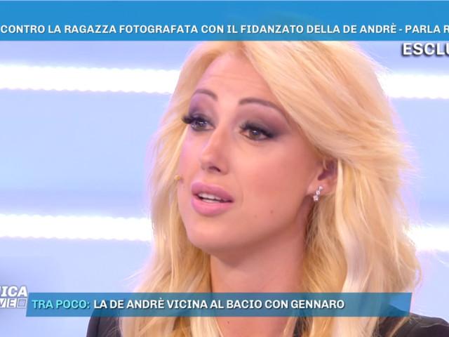 Francesca De André tradita dal fidanzato Giorgio? Roxy svela la verità a Domenica Live