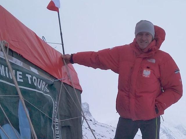 Invernale al Broad Peak. Denis Urubko punta ai 7000 metri, nonostante il maltemp