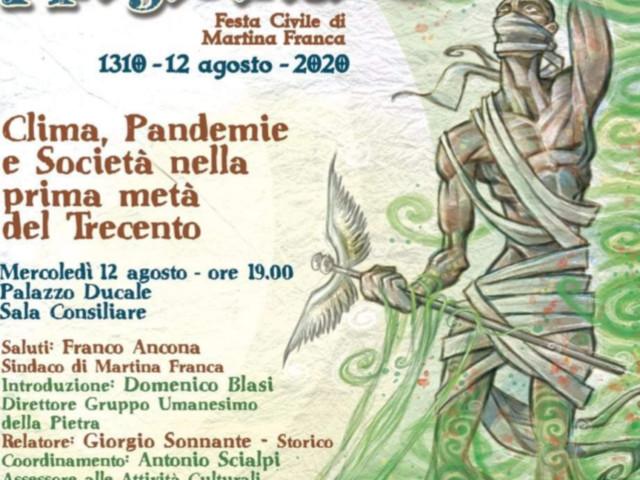 Martina Franca, oggi 710 anni Si ricorda l'affrancamento risalente al 12 agosto 1310