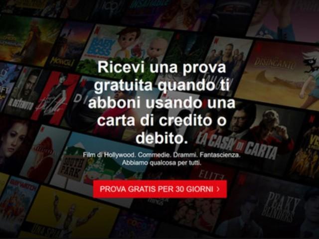 Netflix ha reintrodotto il mese di prova gratuita in Italia