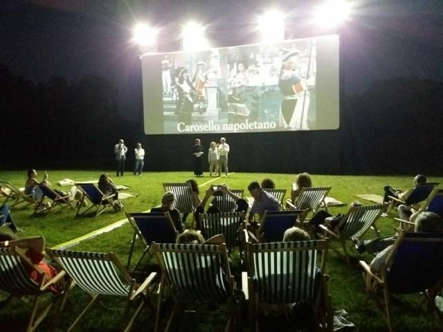 Cinema All Aperto Villa Borghese