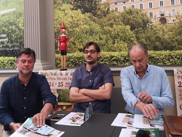 """Collodi: 4/a edizione di """"Senza fili. Pinocchio Street Festival"""""""