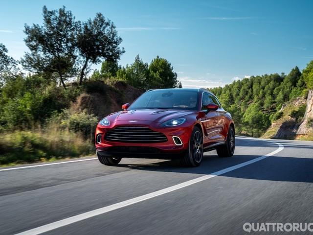 Aston Martin DBX - La prima Suv di Gaydon debutta in California