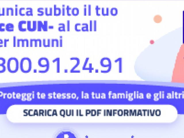 Al via il call center di Immuni