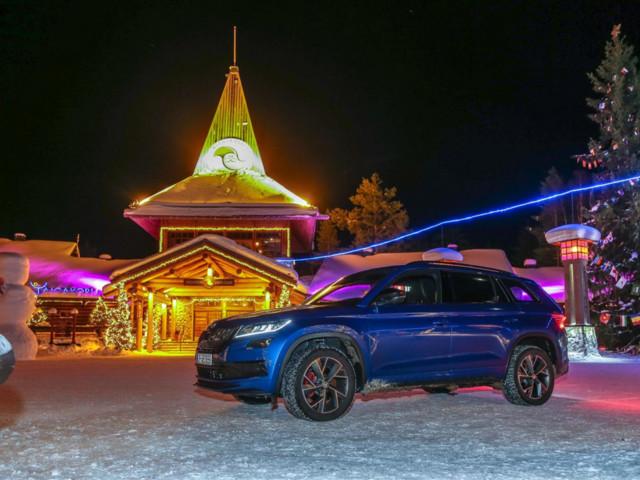 Skoda Kodiaq RS protagonista della 24HouRS Ice Challenge