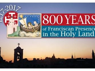 Il Papa: i francescani da 800 anni testimoni di pace in Terra Santa