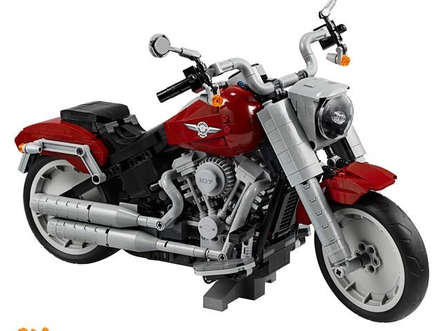 Se vi piacciono le moto classiche americane, questo modellino Lego-Harley-Davidson fa per voi (foto)