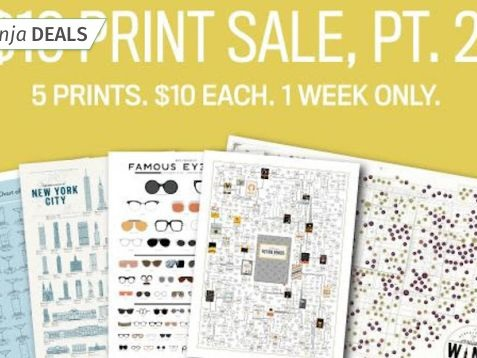 Make Your Walls Pop With $10 Prints from Pop Chart Lab