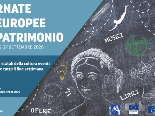 Giornate Europee del Patrimonio 26 e 27 settembre 2020