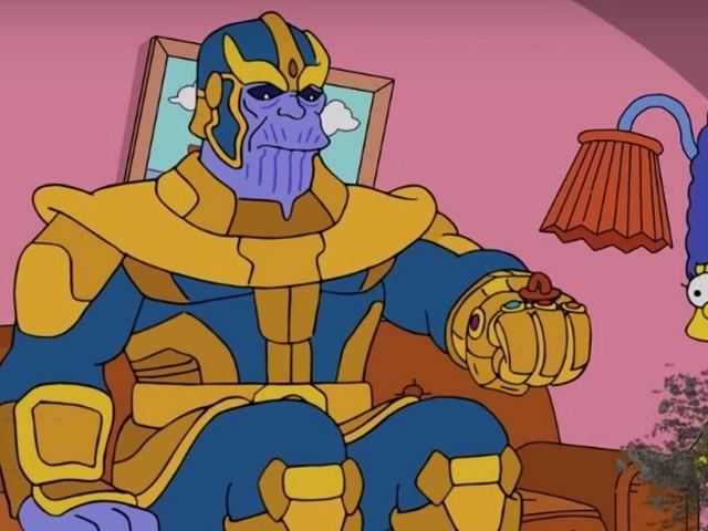 I Simpson incontrano gli Avengers nel poster dell'episodio speciale dedicato alla Marvel