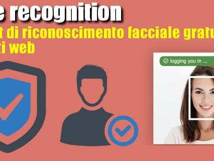 Face recognition | widget di riconoscimento facciale gratuito per siti web - Web Apps Magazine